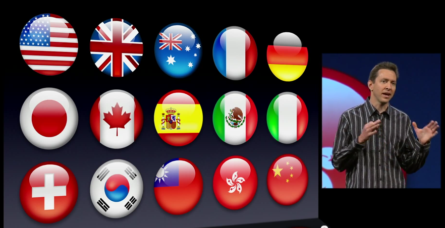 Top languages for app localization iPhone and iOS