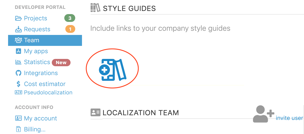Add a localization style guide for your app or project