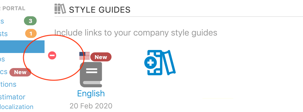 Your localized style guides