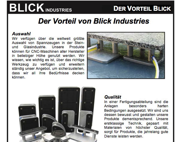Blick Industries (deutsch)