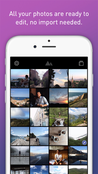 Darkroom was featured by Apple, which looks for apps localized in 10+ languages