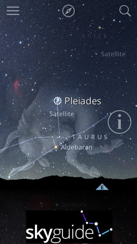 Sky Guide, one of the most popular iOS apps